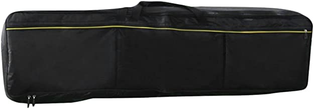 Perfk Dustproof Black Bag Case Carry For 88 Key Keyboard Electronic Piano-New
