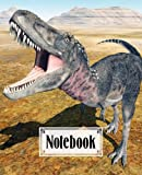 """Notebook: Composition Notebook College Ruled, Dinosaur Tarbosaurus Cover Back to School Composition Book 