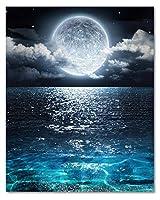 LB アートパネル ハワイ インテリア パネル 絵 油画 太陽 海の5 砂浜 海浜 波 青海 神自然 風景 景色 壁飾り 雰囲気 背景 子供部屋 心癒し 気分落ち着き 壁掛けアート (フレーム付きの完成品)40*30cm*1pcs