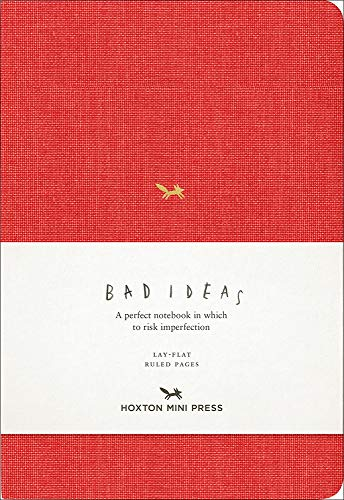 Notebook For Bad Ideas - Red/lined: A Perfect Notebook in Which to Risk Imperfection (Notebooks)