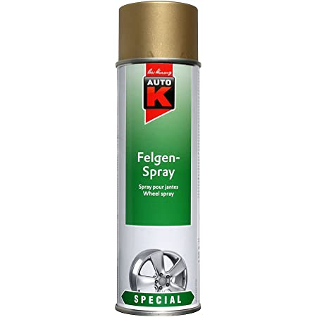 Kwasny 633 038 Auto K Special Felgen Spray Gold 500ml Auto