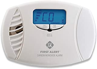 First Alert Dual-Power Carbon Monoxide Detector Alarm | Plug-In with Battery Backup and..