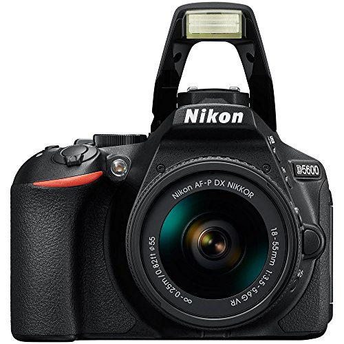 Nikon D5600 24.2 MP DSLR Camera + AF-P DX 18-55mm & 70-300mm NIKKOR...