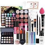 PW TOOLS Kit de Maquillaje Todo en uno, Set de Regalo de Maquillaje Multiusos Kit básico básico de Maquillaje Completo, Set de Regalo de Maquillaje para niñas Adolescentes, Principiantes