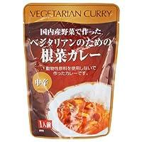 桜井食品 ベジタリアンのための根菜カレー 中辛 200g ×2セット