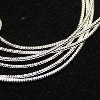 Silver Plated No. 2 Pearl Purl ~ 18