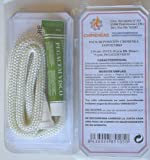 Kit reparación estufas y chimeneas cordón fibra de vidrio + pegamento (12mm)