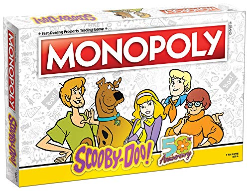 Monopoly Scooby-Doo! Board Game | Collectible Monopoly Game | Officially Licensed Scooby-Doo! Game |...