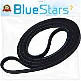 Ultra Durable 661570 Dryer Drum Belt Replacement Part by Blue Stars - Exact Fit for Whirlpool Kenmore Dryers - Replaces 661570V 3387610 3389728 PS11722115