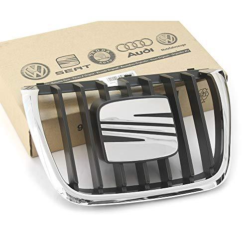 Recambios Originales Seat - Rejilla Parilla Calandra parachoques delantera emblema negro/cromado 7M785365101C