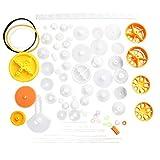 Mingtongli Cojinete de plástico Juego de Engranajes Varios Tipos de Engranaje Paquete Juguete...