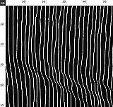 Streifen, Schwarz Und Weiß, Alptraum, Stoffe - Individuell