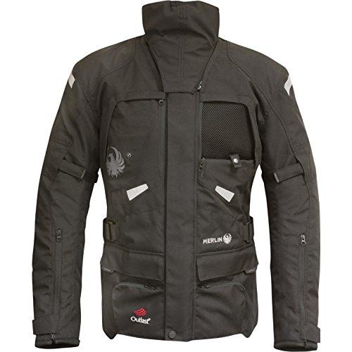 Merlin Horizon Outlast Airbag-Motorrad-Jacke, Schwarz, xxxl