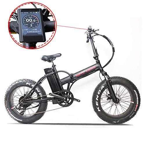TypeBuilt Faltbares Elektrofahrrad Elektrisches Fahrrad,20 Zoll E-Bike Pedelec,Mit 48V 10.4Ah/ 36V 8AH Lithium Akku, 7-Gang Getriebe, 350W / 250W Motor