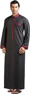 Hussn Mens Thobe/Kaftan Kamani-Islamic Clothing Jubba for Men-Muslim Thobes