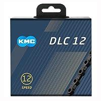KMC DLC 12 チェーン 12速/12S/12スピード 用 126Links (ブラック) [並行輸入品]
