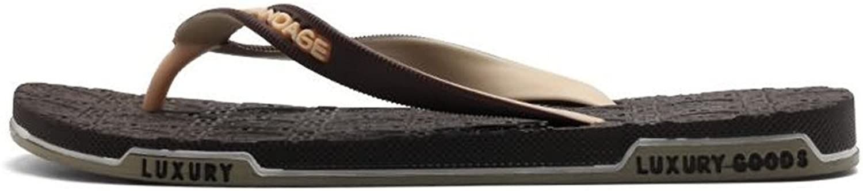 män s Sandals, herrar Thong Classic Flip Flops Flops Flops Sandals glider upp till Storlek 10MUS (Färg  bspringaaa, Storlek  9.5MUS)  100% prisgaranti