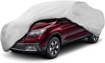 Motor Trend T-850 Weatherproof for 2005-2018 Honda Ridgeline Custom Fit Truck Cover (Outdoor Use UV Protection Waterproof)