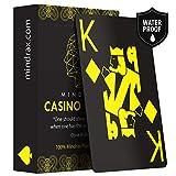 Mindrax Naipes Premium   Cartas de póker de diseño Profesional Impermeables 100% plástico e índice Grande