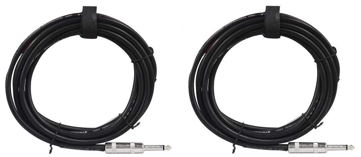 2 Rockville RCTT1610 10' Year-end gift 16 Super-cheap AWG 1 to Speaker TS Pro 4