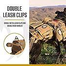 OneTigris Tactical Dog Molle Vest Harness Training Dog Vest with Detachable Pouches (Tan, X-Large) #1