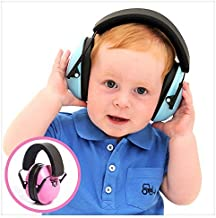 My Happy Tot Noise Reduction Earmuffs for Infants and Children. Hearing Protection..