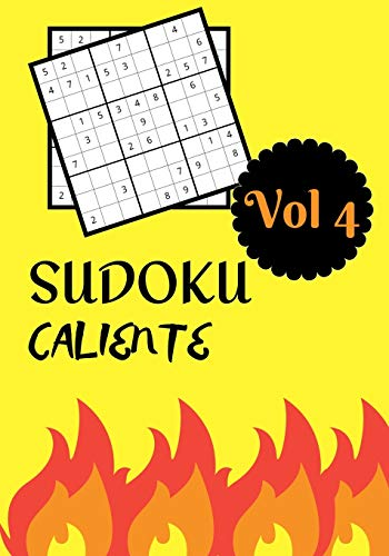 SUDOKU CALIENTE: Vol 4   Nivel dificil con soluciones