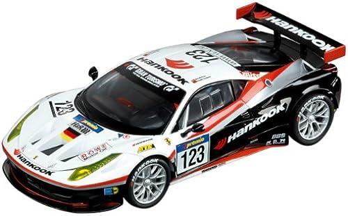 Obtén lo ultimo Carrera - Coche Digital 132 Ferrari 458 Italia GT2 Hankook Hankook Hankook Team Farnbacher, No.123, 2011, escala 1 32 (20030554)  Tienda 2018