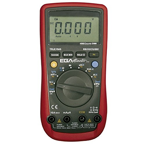 Egamaster - Multimetro automocion 400a-10a corriente alterna