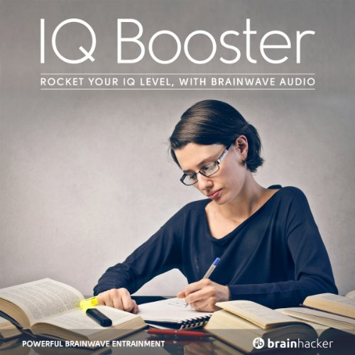 IQ Booster Session audiobook cover art