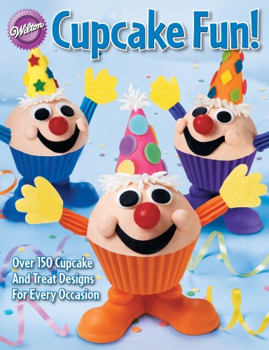 Wilton 128-Page Soft-Cover Cake-Decorating Book, Cupcake Fun