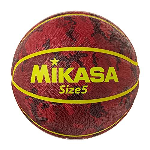 ミカサ(MIKASA) バスケットボール 5号 (男子用・女子用・小学生) 人工皮革 レジャー用 カモフラージュ柄 ブラウン B530Y-CF-B 推奨内圧0.56(kgf/?)