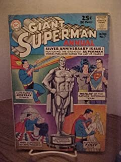 GIANT SUPERMAN ANNUAL-ISSUE 7- 1963