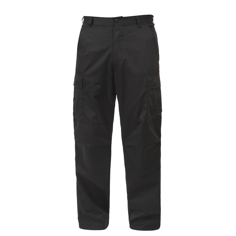 (ロスコ) ROTHCO BDU カーゴパンツ 無地 ミリタリー メンズ Black ブラック [7971]