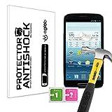 Displayschutzfolie Anti-Shock Kratzfest Bruchsicher Kompatibel mit Mediacom PhonePad Duo S500