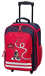 sigikid, Boys, Childrens Trolley Firefighter, Frido Firefighter, 40x30x17 cm, Blue / Red, 24548