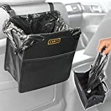 BDK TB-101 1 Piece Cubit Refillable Car Trash Bag – Hanging Waste Basket & Interior Organizer, Universal Storage Bin for Auto Truck Van and SUV