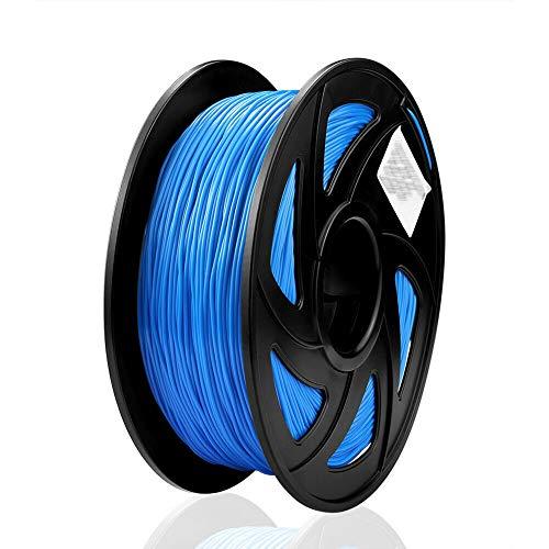 S SIENOC 1.75 mm Filamento flessibile TPU per la Stampa 3D Printing - 1KG Spool (TPU Blu)