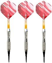 ZJQRSFB Dartpfeile Soft Dartpfeile Professional Darts 17g Pink Soft Darts Elektronische Soft Tip Darts mit Schaft aus Aluminiumlegierung