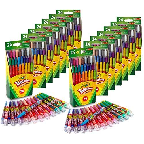 Crayola Twistables Mini Twistable Crayons 24 pk