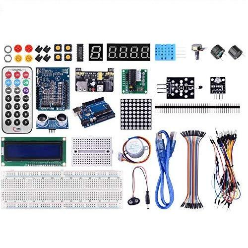 Arduino用キット uno r3ボード LEDセット ブレッドボード 電子工作 mega2560 アルディーノ 日本語マニュアル K4