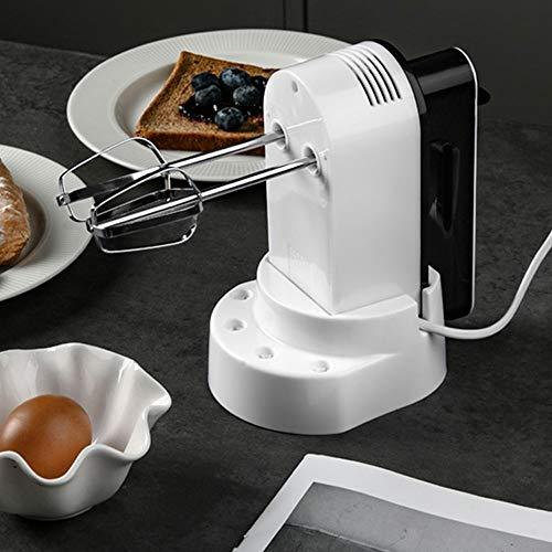 YUZHUKKKPYZDDQ Varillas Cocina Batidor eléctrico eléctrico Ventilador de la pequeña pastel para...