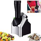 Máquina para hacer helados, máquina para hacer helados suaves de frutas 200W Rápido y fácil Hacer deliciosos productos lácteos Alternativas veganas Máquina portátil para hacer yogurt congelado
