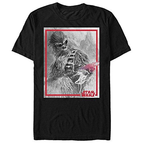 Solo: A Star Wars Story Men's Chewie Blaster Black T-Shirt