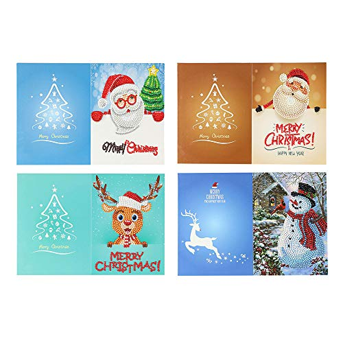 3D Christmas Greeting Cards Pop Up Christmas Cards Handmade Gift Holiday Christmas Greeting Cards From Women, Wife, Girls, Husband, friend Cards,Envelopes&stickers (6 pack 3D pop up Christmas Cards)Ho