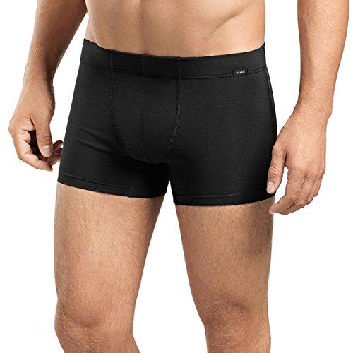 Hanro Herren Cotton Essentials Pants TwoPack Hipster, Schwarz (Black 0019), 54/56 (Herstellergröße: XL) (2er Pack)