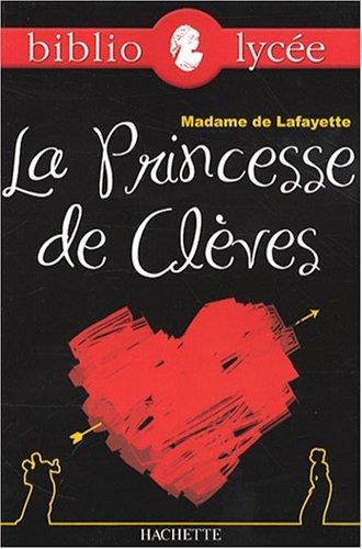 La Princesse de Clèves by Madame de Lafayette (2008-04-16)