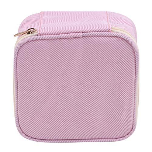 Pinhan Damenbinde Aufbewahrungstasche Tragbarer Reißverschluss Damenbinde Organizer Quadratische Form Mini Make-up Tasche,Pink