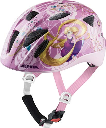 ALPINA XIMO DISNEY Fahrradhelm, Kinder, Disney Rapunzel, 49-54