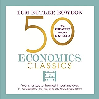 50 Economics Classics audiobook cover art
